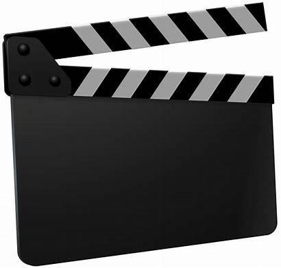 Clapboard Transparent Clipart Board Clapper Movie Clapperboard