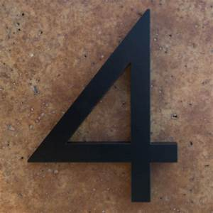 house numbers black home ideas With modern house numbers and letters