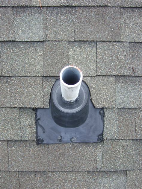 roof leaking around vent pipe leaking roof boot inspection replacement collins design build collins design build
