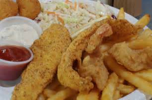 Fried Fish and Shrimp Plate