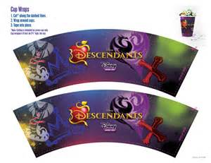 how to make a backdrop disney descendants party ideas food crafts and family