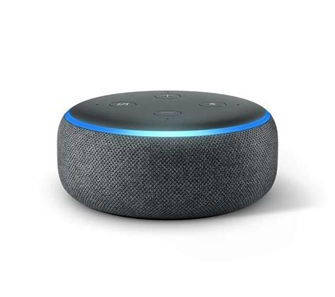 Buy Echo Dot 2018 Charcoal Free Delivery Currys