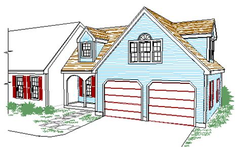House Plans Master Bedroom Above Garage by Cape Style Garage And Entry Addition With Master Br Suite