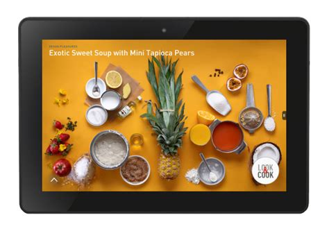 cuisine chef tv food tech connect look cook partners with amazon tv
