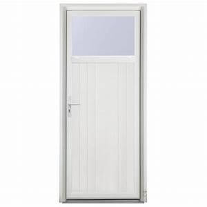 porte de service bois sologne pasquet menuiseries With porte de garage enroulable et porte intérieure 90 cm
