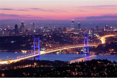Istanbul Bosphorus Strait East West Meets Tv