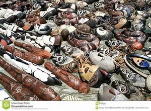 African Art Flea Market Stock Photo  Image Of Adornment