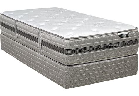 Therapedic Escapade Low Profile Twin Mattress Set