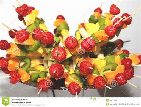 canapes fruit canape assorted fruit stock photo image 54277656