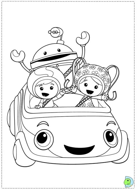 Coloring Umizoomi by Umizoomi Coloring Pages Kidsuki