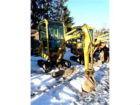 komatsu pcr  mini excavator  sale auction premium netbid industrial auctions