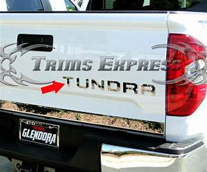 2014 2018 toyota tundra tailgate letter insert trim With 2014 toyota tundra tailgate letters