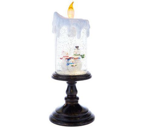 bethlehem lights battery op pedestal candle