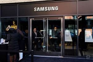 Samsung has a new flagship store where you can't buy anything