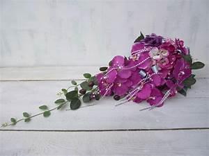 Wedding Flowers Silk Bridal Bouquet Cascade Bridal Bouquet ...