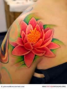 beautiful lotus flower tattoo design ideas