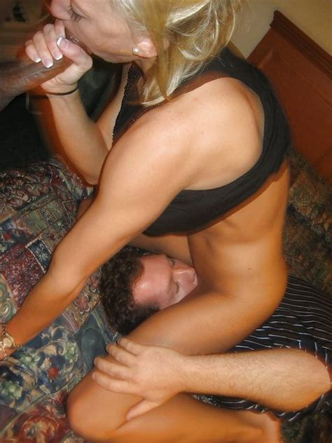 Wife Sucking Black Dick While Husband Licking Her Pussy