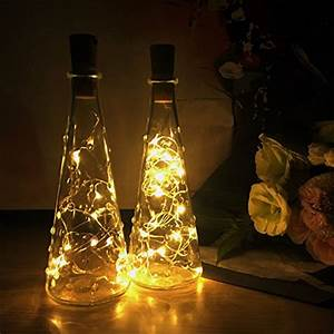 Lichterkette Für Flaschen : led flaschen licht besttrendy flaschenlicht weinflaschen lichter 6 st ck 20er led kork flasche ~ Frokenaadalensverden.com Haus und Dekorationen
