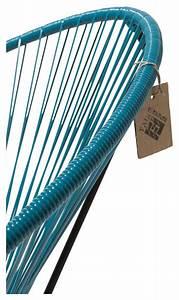 Fauteuil Bleu Pétrole : fauteuil condesa bleu p trole le fauteuil acapulco authentique ~ Teatrodelosmanantiales.com Idées de Décoration