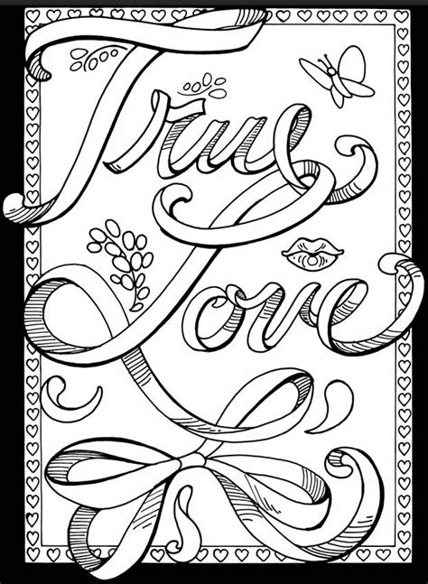 true love stained glass  love coloring pages valentine