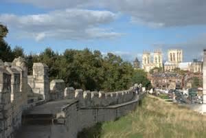 City Walls York England
