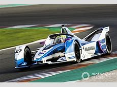 BMW Rookie Sims Leads Day 1 Of Formula E Testing