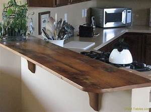 Wormy Chestnut Table with Metal Legs - Reclaimed Wood