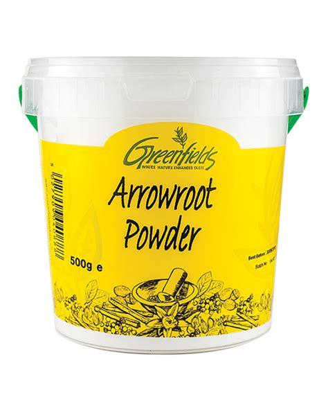 arrowroot powder buy arrowroot powder greenfields uk