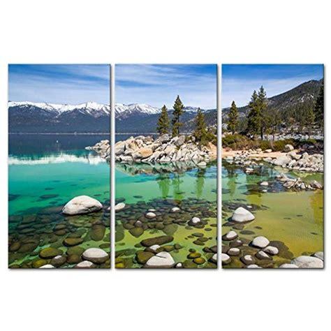 home accents sierra nevada fir tree 75 lake paintings