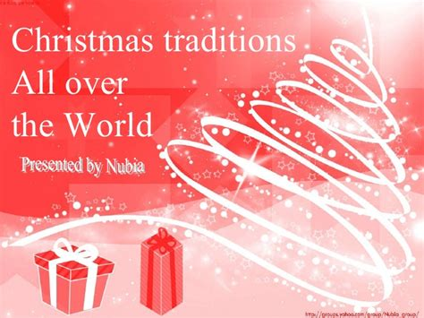what is christmas called traditions all the world