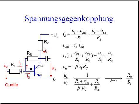 schaltungen mit transistoren