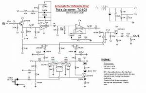 Classic Tube Screamer Ts-808 Schematic - I Want To Try To Build A Clone