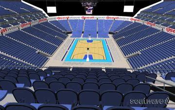 arena view  seat block