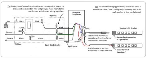 Low Voltage Transformer Wiring Diagram by Inspired Led 101 How To Hardwire Inspiredled