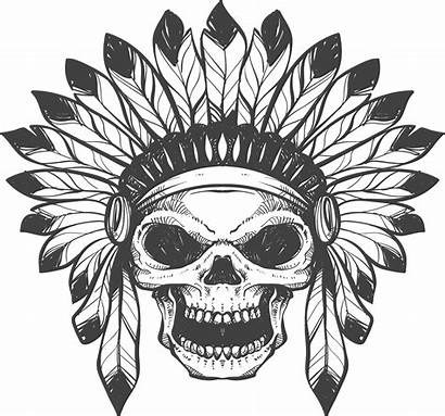 Skull Tattoo Transparent Clipart Tattoos Tatoo Tribal