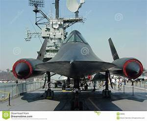 SR71 On The Intrepid Royalty Free Stock Photo - Image: 80665