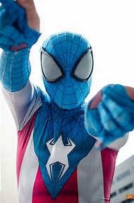 Spider-Man Captain America Cosplay