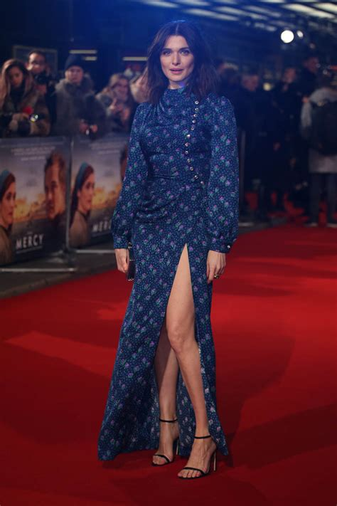 Rachel Weisz In High Collar Blue Lainey Gossip Lifestyle