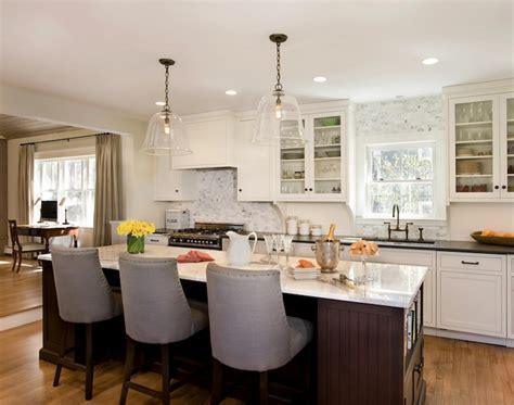 kitchen contemporary chandelier kitchen island