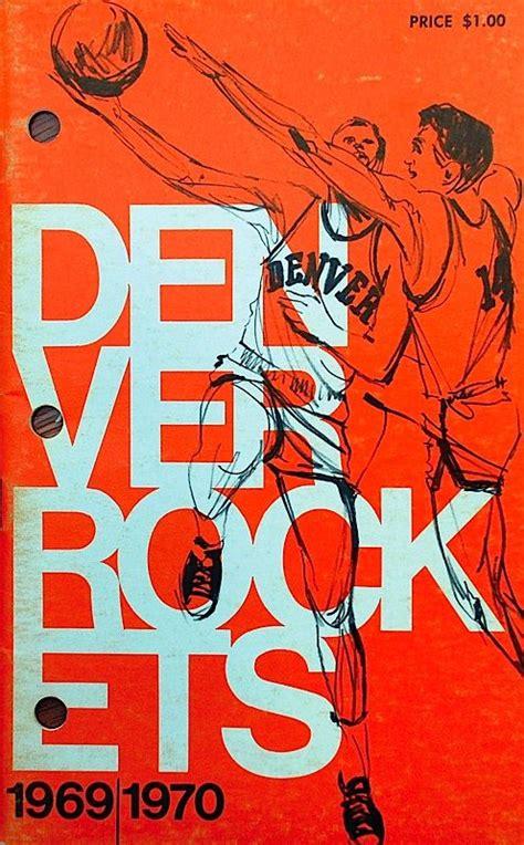 graphic design denver denver rockets basketball poster design graphic