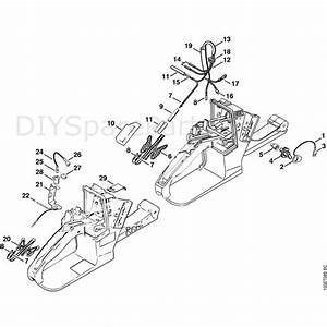 Stihl 026 Chainsaw  026wvh  Parts Diagram  Heating