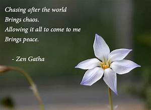 Quotes on Peace... Peaceful Zen Quotes