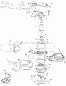 Porter Cable 343 Parts List And Diagram