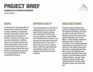 project brief research examples the abandoned project With project brief template word