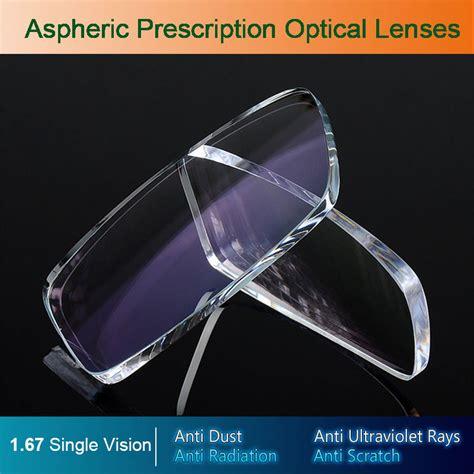 1 67 Prescription Rx Optical 1 67 Single Vision Aspheric Optical Eyeglasses