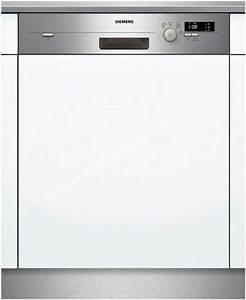 Prix D Un Lave Vaisselle : lave vaisselle siemens sn54d501eu au meilleur prix ~ Premium-room.com Idées de Décoration