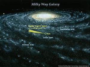 Milky Way Galaxy Map Earth images