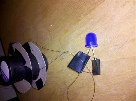 make your own led l make your own simple quot shaky quot generator to light an led