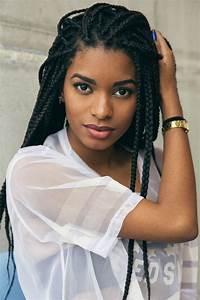 Natural Black Braids Hairstyles | Hairstyles 2017, Hair ...