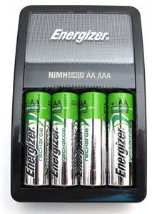 Energizer AA Battery Charger Instructions